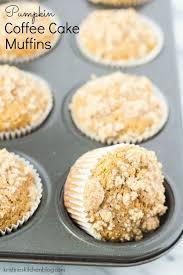 light pumpkin dessert recipes healthier pumpkin coffee cake muffins so light tender and moist