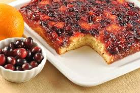 cranberry orange upside down cake recipe mygourmetconnection