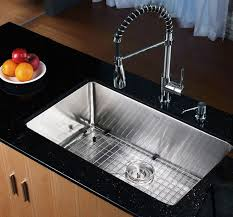 kraus khu10030 30 inch undermount single bowl kitchen sink with 16