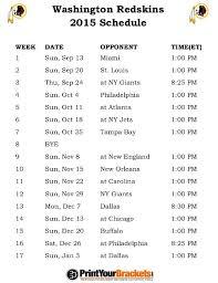 best 25 redskins schedule ideas on redskins football