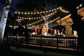 Patio Hanging Lights Hanging Outdoor Lights Best Backyard String Lights Ideas On Patio