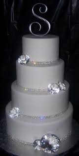 bling wedding cake toppers wedding cake bling beautiful cakes that sparkle shine ideal