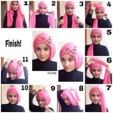 tutorial turban sederhana tucked and neat hijab hijabista pinterest hijabs