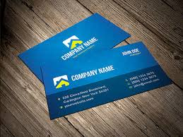 corporate name card template vector business name card template