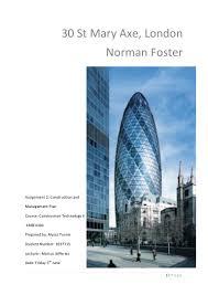 swiss re building london