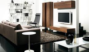 furniture interior design fascinating apartment with simple shelf and black flooring under