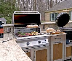 change the look outdoor kitchen cabinet design remodeling