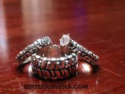 bog the wedding band wedding set 3 rings edde designs