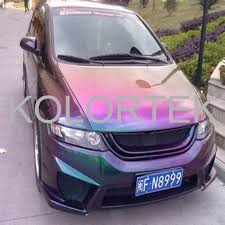 color changing cameleon pigment for car paint color changing