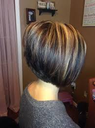 photos of an a line stacked haircut a line stacked bob hairstyle for women man
