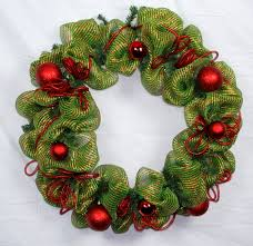 deco mesh ideas christmas decoration ideas deco mesh wreath