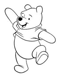 8x10 canvas winnie pooh piglet silhouette
