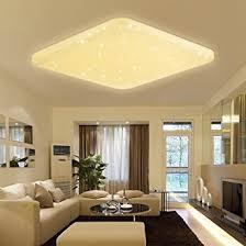 starlight schlafzimmer vingo 60w led deckenleuchte eckig sternenhimmel effekt