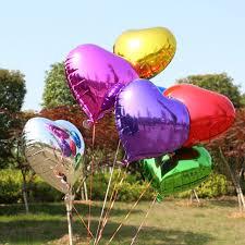 foil balloons hot new 18 inch helium foil balloons balloon heart shape