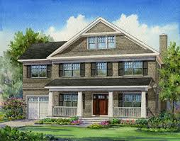 Shingle Style Home Plans Bring Unique And Antique Home Design With Shingle Style House