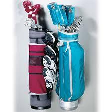 Garage Golf Bag Organizer - golf club rack our racor wall mounted golf bag rack carries two