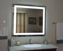 Mirrored Bathroom Vanities Home Decor Lighted Bathroom Wall Mirror Bathroom Cabinet With