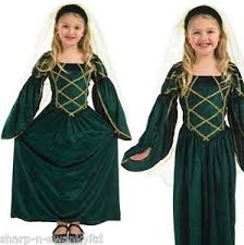 Tudor Halloween Costumes U0027s Green Rich Long Tudor Medieval Book Fancy Dress