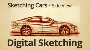 how to draw cars dynamic car sketching u2013 side view sketch 1