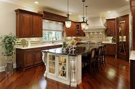 Stained Hickory Cabinets Dark Stained Hickory Kitchen Cabinets Memsaheb Net