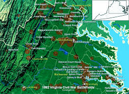 Map Of Richmond Va Battle Of Malvern Hill