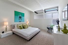 chambre attenante demeure contemporaine californienne à palm springs salle