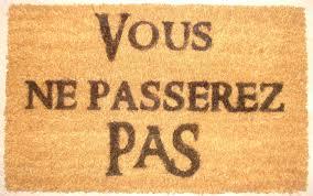 cadre paillasson interieur paillasson seigneur des anneaux lord of the ring vf