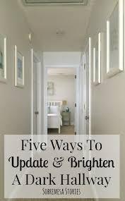 paint colors for hallway with no natural light five ways to update and brighten a dark hallway dark hallway dark