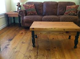 prefinished distressed wide plank heart pine flooring available