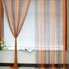 Coloured Curtains Multi Coloured String Curtains Colour String Curtains Fringe