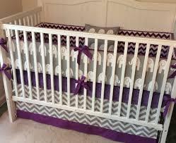 Purple Crib Bedding Set Purple And Grey Crib Bedding Regencyhouseapartments