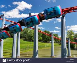 Canada S Wonderland Map by Roller Coasters Stock Photos U0026 Roller Coasters Stock Images Alamy