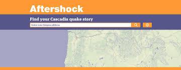 Earthquake Map Oregon by Cascadia Subduction Zone Earthquake And Tsunami Csc Blog