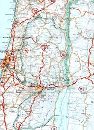 Driving Maps Occurrence 1359 Israel Trip And Map Of Anointed Areas