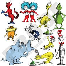 dr seuss character portrait pack by ampersandcreations on etsy