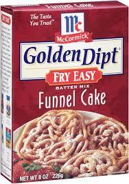 golden dipt funnel cake batter mix fry easy hy vee aisles online