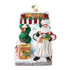 santa bakery 1018905 christopher radko ornament