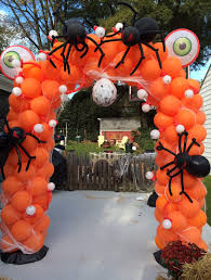 halloween balloon arch u0026amp balloon spiders