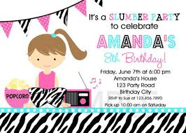 one direction slumber party invitations free printable slumber