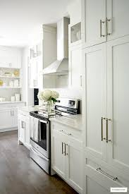 what hardware for white kitchen cabinets white and grey kitchen a hardware update citrineliving
