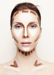 as you contour stay close to the hairline