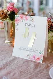 Wedding Table Number Ideas Inspiring 8 Adorable Wedding Table Number Ideas Her World