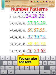 kids math patterns worksheets grade 1 on the app store