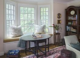 Bay Window Valance Richmond Bay Window Valance Family Room Victorian With Stool