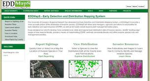 edd maps center for invasive species and ecosystem health