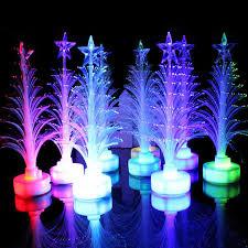 fiber optic light tree retail b mini colorful led fiber optic nightlight xmas tree l