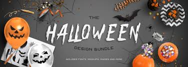 the halloween bundle design bundles