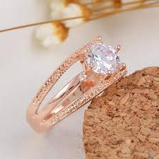 rings with crystal images Women wedding engagement ring crystal jewelry rings star smart jpg