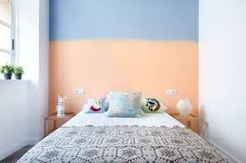 Two Color Bedroom Two Tone Rooms Home Design And Decor