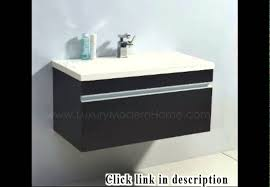 Floating Bathroom Sink by Floating Bathroom Vanity Youtube